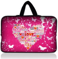 View Huado 15 inch Sleeve/Slip Case(Pink) Laptop Accessories Price Online(Huado)