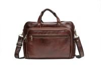 View Amigo 16 inch Laptop Messenger Bag(Brown) Laptop Accessories Price Online(Amigo)