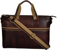 View e-Stores 15 inch Laptop Messenger Bag(Brown) Laptop Accessories Price Online(e-STORES)
