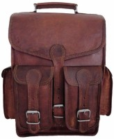 View Pranjals House 14 inch Laptop Backpack(Brown) Laptop Accessories Price Online(Pranjals House)