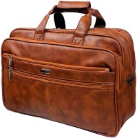 View Widnes 15.6 inch Expandable Laptop Messenger Bag(Tan) Laptop Accessories Price Online(Widnes)