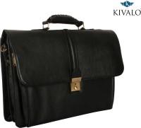 View Kivalo 18 inch Laptop Messenger Bag(Black) Laptop Accessories Price Online(Kivalo)
