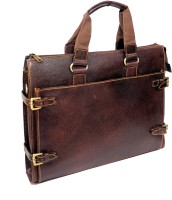 View Widnes 15.6 inch Laptop Messenger Bag(Brown) Laptop Accessories Price Online(Widnes)