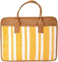 Rajrang 13 inch Laptop Tote Bag(Yellow)