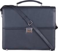 Massi Miliano 14 inch Laptop Messenger Bag(Black)
