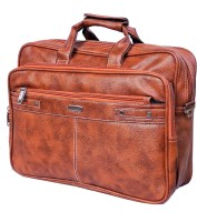 View Widnes 15.6 inch Laptop Messenger Bag(Tan) Laptop Accessories Price Online(Widnes)
