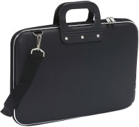 View Estycal 15 inch Laptop Messenger Bag(Black) Laptop Accessories Price Online(Estycal)