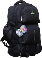 View Nl Bags 16 inch Laptop Backpack(Black) Laptop Accessories Price Online(Nl Bags)