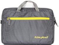 View Kelvin Planck 15.6 inch Laptop Messenger Bag(Grey) Laptop Accessories Price Online(Kelvin Planck)