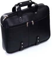 View Yours Luggage 14 inch Laptop Messenger Bag(Black) Laptop Accessories Price Online(Yours Luggage)