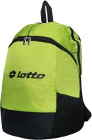 View Lotto 19 inch Laptop Backpack(Green, Black) Laptop Accessories Price Online(Lotto)