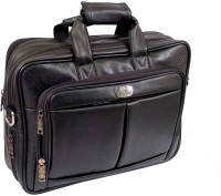 View Ays 15.6 inch Expandable Laptop Messenger Bag(Black) Laptop Accessories Price Online(Ays)