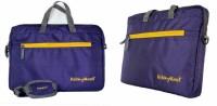 View Kelvin Planck 15.6 inch Laptop Messenger Bag(Purple) Laptop Accessories Price Online(Kelvin Planck)