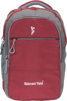 View Relevant Yield 17 inch Expandable Laptop Backpack(Maroon) Laptop Accessories Price Online(Relevant Yield)