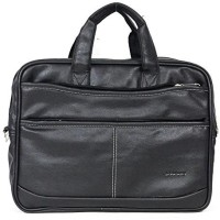 View Goodwin 15.6 inch Laptop Messenger Bag(Black) Laptop Accessories Price Online(Goodwin)