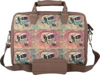 The Backbencher 14 inch Laptop Messenger Bag(Brown)