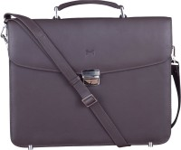 Massi Miliano 15 inch Laptop Messenger Bag(Brown)