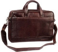 View Hidepark 13 inch Laptop Messenger Bag(Brown) Laptop Accessories Price Online(Hidepark)