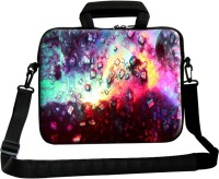 Theskinmantra 13 inch Laptop Messenger Bag(Multicolor)
