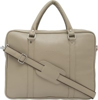 View Mboss 14 inch Laptop Messenger Bag(Cream) Laptop Accessories Price Online(Mboss)