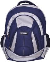 Spyki 15 inch Laptop Backpack(Blue, Cream)