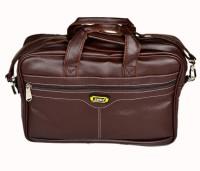 Zenniz 16 inch Laptop Messenger Bag(Brown)