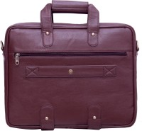 View Yours Luggage 14 inch Laptop Messenger Bag(Brown) Laptop Accessories Price Online(Yours Luggage)