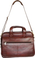 View WCL 15 inch Expandable Laptop Messenger Bag(Brown) Laptop Accessories Price Online(WCL)