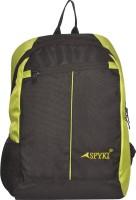View Spyki 15 inch Laptop Backpack(Black, Green) Laptop Accessories Price Online(Spyki)