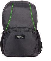 Spyki 14 inch Laptop Backpack(Black, Green)