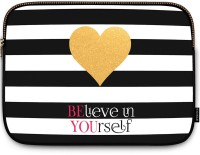 View Uptown18 15 inch Sleeve/Slip Case(Multicolor) Laptop Accessories Price Online(Uptown18)