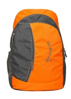 View Petrox 15.6 inch Laptop Backpack(Orange, Grey) Laptop Accessories Price Online(Petrox)