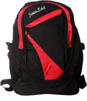 View Simon Robes 15 inch Laptop Backpack(Black, Red) Laptop Accessories Price Online(Simon Robes)