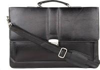 View LeWIS 16 inch Laptop Messenger Bag(Black) Laptop Accessories Price Online(LeWIS)