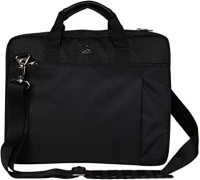 Clubb 17 inch Laptop Messenger Bag(Black)