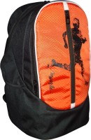 View Myarte 18 inch Laptop Backpack(Orange, Black) Laptop Accessories Price Online(Myarte)