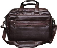 View Easies 17 inch Laptop Messenger Bag(Brown) Laptop Accessories Price Online(Easies)