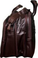 View Easies 18 inch Laptop Messenger Bag(Brown) Laptop Accessories Price Online(Easies)