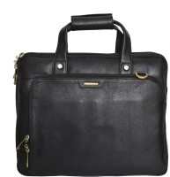 View Rehan's 14 inch Laptop Messenger Bag(Black) Laptop Accessories Price Online(Rehan's)