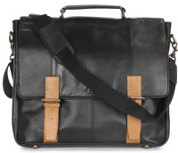 Kaizu 17 inch Laptop Messenger Bag(Black)