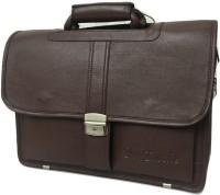 View Da Tasche 12 inch, 13 inch, 14 inch, 15 inch, 15.6 inch Laptop Messenger Bag(Brown) Laptop Accessories Price Online(Da Tasche)