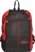 Spyki 15 inch Laptop Backpack(Black, Red)