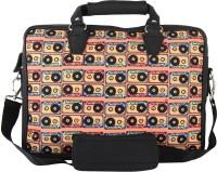 The Backbencher 14 inch Laptop Messenger Bag(Black)