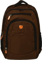 9ac938f52030 View POWER IN EAVAS 16 inch Laptop Backpack(Brown) Laptop Accessories Price  Online(