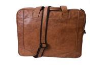 Pellezari 14 inch Laptop Messenger Bag(Tan)