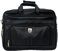 View Fancy 16 inch Expandable Laptop Messenger Bag(Black) Laptop Accessories Price Online(Fancy)