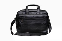 View Easies 17 inch Expandable Laptop Messenger Bag(Black) Laptop Accessories Price Online(Easies)