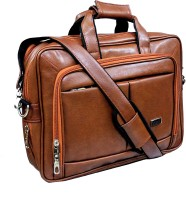 View Ays 15.6 inch Expandable Laptop Messenger Bag(Tan) Laptop Accessories Price Online(Ays)