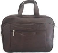 tarana leather art 15 inch Laptop Messenger Bag(Maroon)
