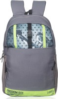 View Killer 15.6 inch Laptop Backpack(Grey, Green) Laptop Accessories Price Online(Killer)